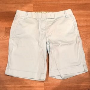 "J Crew ""city fit"" Bermuda's"